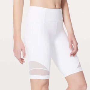 Lululemon Forget the Sweat Short in White